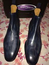 Oliver Sweeney Men's Rocca Chelsea Brogue Boot Uk 8, RRP£329 Made In Italy