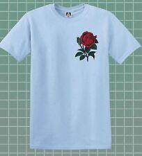 Rose T-shirt Hipster Flower Indie Retro UNISEX Tee Floral Skater Feelings