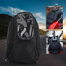 Moto Universale Nero Magnetico Da Motociclista Impermeabile Borsa Serbatoio