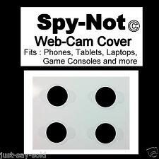 Spy-Not Sherlock Webcam ( Web Camera ) Privacy Cover - Style Black Out