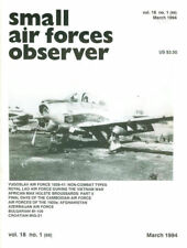 SMALL AIR FORCE OBSERVER 69 YUGOSLAV AF_CAMBODIA_LAOS_AFGHANISTAN_CROATIA_BULGAR