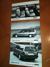 '90 FIAT TEMPRA 3 FOTO ORIGINALI PUBBLICITARIE