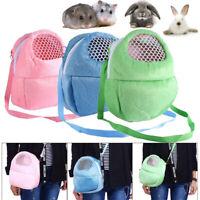 Small Pet Carrier Hamster Breathable Backpack Hedgehog Kangaroo Out Bag r