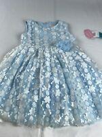 Popatu Girls Floral Dress Size 6X/7 NWT