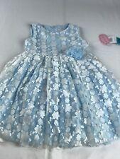 Popatu Girls Floral Dress Size 4/4t