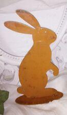 PÁTINA Conejo de Pascua Metal Decoración CASA CAMPO 23cm