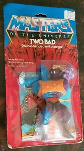 "ORIGINAL 1984  MASTERS of the UNIVERSE -MOTU- ""TWO BAD"" -Mint On Sealed Card -"