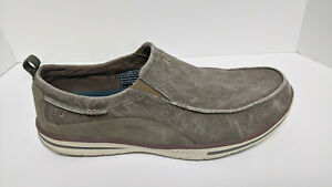 Skechers Relaxed Fit Elected-Drigo Slip-On Loafer, Taupe, Men's 14 3E