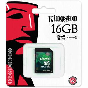 **NEW** Kingston 16GB Secure Digital High Capacity (SDHC™) SD Card