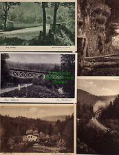 117396 10 AK Bad Altheide Weistritzbrücke im Höllental Eisenhammer Eisenbahn Kir