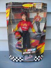 1999 Barbie Collector Edition Nascar Official #94 Nib