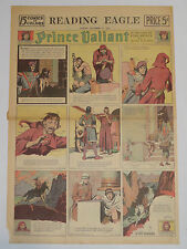 Prince Valiant domingo página us Sundays 10.12.1939 Hal Foster fullpage FC gatos