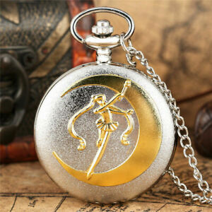 Classic Hollow Out Spider Men's Quartz Pocket Watch with 80cm Necklace Chain