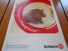 2013 Schleich Collector Booklet; book, catalog/toy/animals