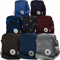 Converse All Star Cross Body Messenger Bag - Black, Blue, Grey, Red