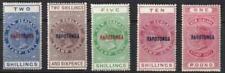 Cook Islands 1921 SC 67-71 MLH Set