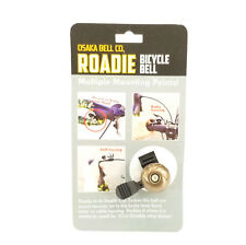 Osaka Roadie Clip Ping Bicycle Bell Copper Mounts to Handlebar Shift Brake Cable