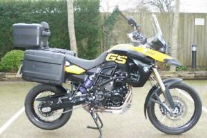 BMW F800GS ABS 2009 (09) BMW F800GS ABS FULLY LOADED IN YELLOW