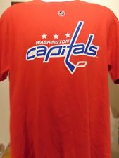 NHL Washington Capitals  Ovechkin #8 Men's 2 sided Rugby Shirt Large