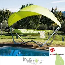 Gondola Hammock Hängematte Mit Gestell Und Sonnensegel UV 50+ NEU/OVP In  Grün