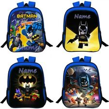 Batman Personalised School Bag Kids Backpack Travel Rucksack Gift 13''