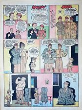 Smilin' Jack by Zack Mosley - full tab page color Sunday comic - March 11, 1945