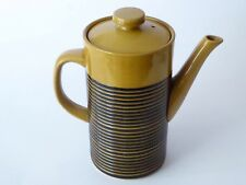 TG Green Channel Islands Sark Honey Coffee Pot Excellent Vintage Quality