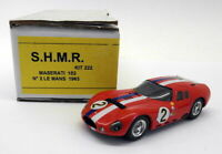 SHMR 1/43 Scale Resin - 222 Maserati 152 #2 Le Mans 1963