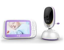 BT Video Baby Monitor 6000 5 Inch LCD 2 Way Talk  Pan Tilt Zoom Wall Mountable