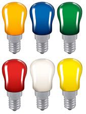 Crompton 1.3w LED Coloured PYGMYS SES (E14) light bulbs 240v IP65 outdoor use