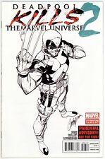 Deadpool Kills the Marvel Universe (2012) #2B VF+ 8.5 2nd Print J Scott Campbell