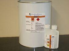 Fibreglass Resin Lloyds Approved White 2kg inc hardener in a dispensing bottle