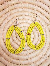 New African Maasai Earrings Masai Massai Africa S/M jemo418
