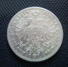 AUSTRIA - HUNGARY / SILVER 1 FLORIN / 1879
