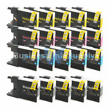 20 PACK LC71 LC75 Ink Cartridge for Brother MFC-J5910DW MFC-J625DW MFC-J6510DW