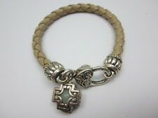 Cross Heart Toggle Bracelet