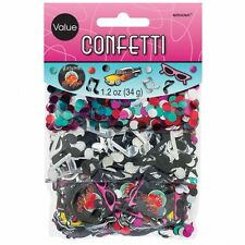 50 CLASSIC ROCK & ROLL TABLE CONFETTI BIRTHDAY PARTY - 34G BAG!