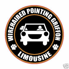 """Limousine Wirehaired Pointing Griffon 5"""" Dog Sticker"""