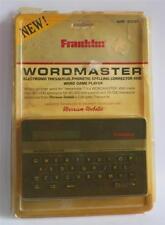 Vtg Collectors Franklin Computer Wordmaster Wm-1000 Electronic Thesaurus Nip