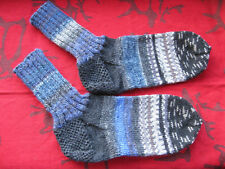 Handknitted Socks fit size 4-6. These last for many years!