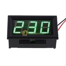 Digital Voltmeter AC 60V To 500V Volt Green LED Panel Meter 220V 230V Voltage