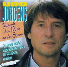 UDO JÜRGENS : ZEIG MIR DEN PLATZ AN DER SONNE / CD - TOP-ZUSTAND