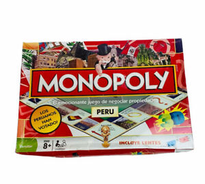 Peru Monopoly Special Edition Sealed