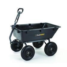 Gorilla 1200-LB Yard Garden Cart Wagon Dump Hauler Rock Wheelbarrow Wheel Barrow