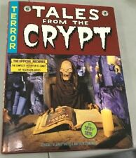 TALES FROM THE CRYPT OFFICIAL ARCHIVES HARDCOVER DUST JACKET FIRST EDITION