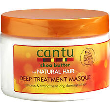 Cantu Beurre Karité Pour Cheveux Naturels Traitement En Profondeur Masque 340g
