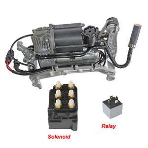 Air Airmatic Suspension Compressor Pump Kit Audi Q7 4L 2006-2015 4L0698007