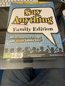 NEW Say Anything Family Edition Question Answer Game by North Star Games SEALED