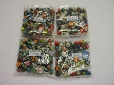 4 Pounds Assorted Shapes and Sizes India Ceramic Porcelain Beads Lot Wholesale