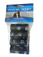 Ancol Bio-Degradable Poop Waste Bags  60 Bags